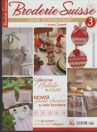 Broderie Suisse - creare ricamando Magazine di Ivana Zanetti