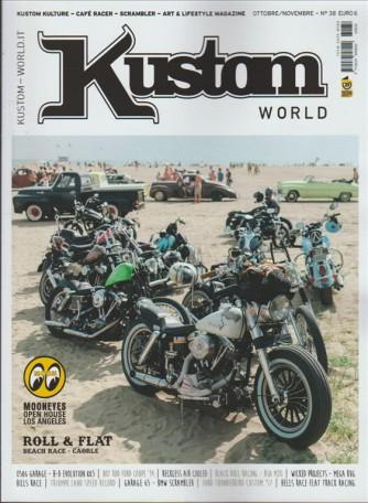 Kustom World Magazine - Bimestrale n 38 Ottobre 2016