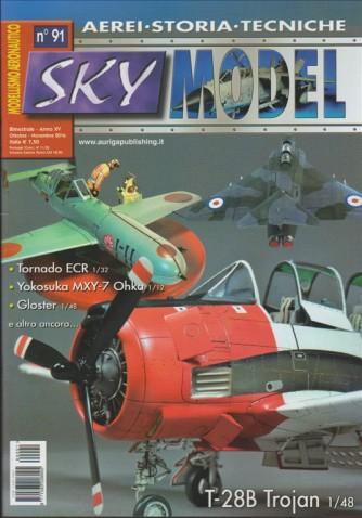 SKY MODEL (modellismo aereonautico) bimestrale n. 91 Ottobre/Novembre 2016