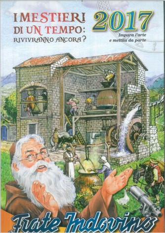 Calendario 2017 Frate indovino - cm. 29,5 x 46