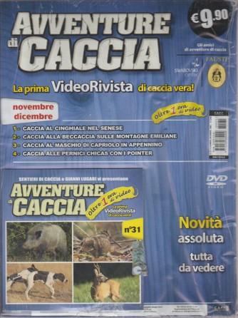 AVVENTURE DI CACCIA. N. 31. NOVEMBRE/DICEMBRE 2016.