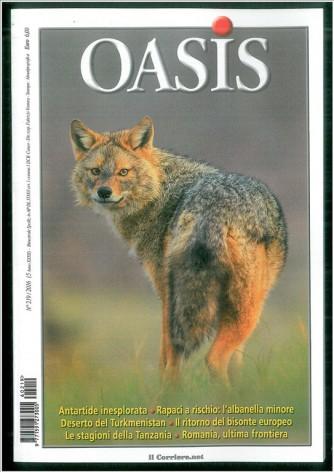 Oasis - Bimestrale n. 219 - Novembe 2016