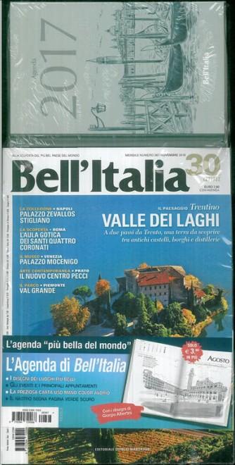 Bell'Italia - mensile n. 367 Novembre 2016 + Agenda 2017