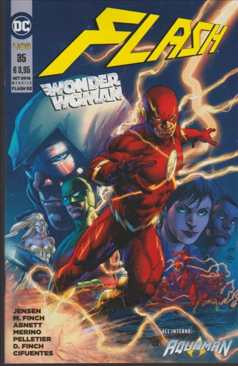 Flash #53 – Flash/Wonder Woman #35 - DC Comics Lion