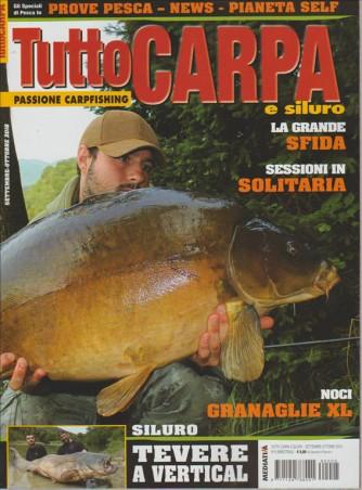 TUTTO CARPA E SILURO. N. 5 BIMESTRALE. SETTEMBRE/OTTOBRE 2016.