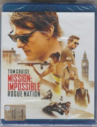 Blu-ray disc: Mission: impossible rogue nation con Tom Cruise