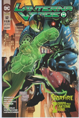 Lanterna Verde #52 (74) - DC Comics Lion