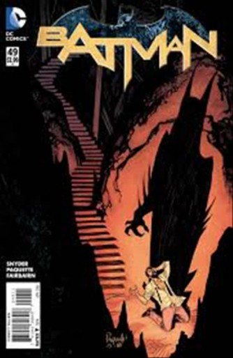 Batman 53 (110) - DC Comics lion
