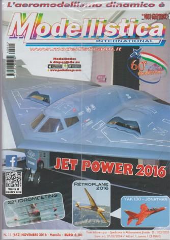 Modellistica international - mensile n. 673 Novembre 2016