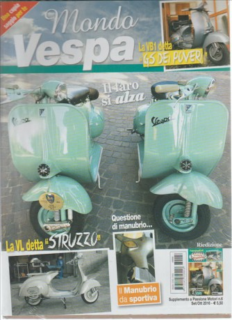 Mondo Vespa - supplemento a Passione motori n. 6