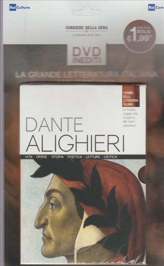 DVD I grandi della letteratura italiana vol. 1 Dante Alighieri