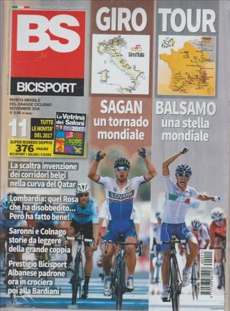 BICISPORT - rivista mensile del grande ciclismo n. 376 Novembre 2016
