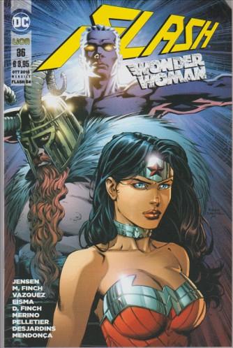 Flash 54 – Flash/Wonder Woman #36 - DC Comics Lion