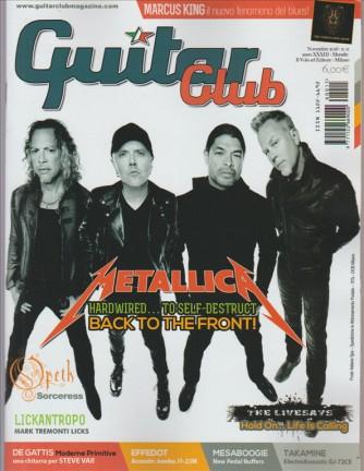 """Guitar Club - mensile n.11 Novembre 2016 """"Metallica"""""""