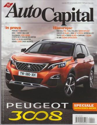 Auto Capital - mensile n. 11 Novembre 2016 - Peugeaut 308