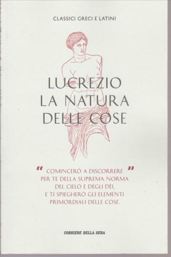 Classici Greci e Latini vol. IV - La Natura delle Cose - LUCREZIO