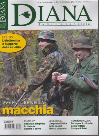 Diana - La Natura  La Caccia - quattordicinale n. 20 -12 Novembre 2016