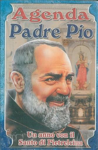 Agenda perpetua di Padre Pio - Un anno con il Santo di Pietralcina cm13.5 x 20