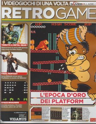 """RETROGAME magazine n.3 """"I videogiochi di una volta"""""""