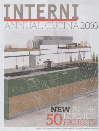 INTERNI. ANNUAL CUCINA 2016.N. 9. SETTEMBRE 2016. MONOGRAFIA ALLEGATA.