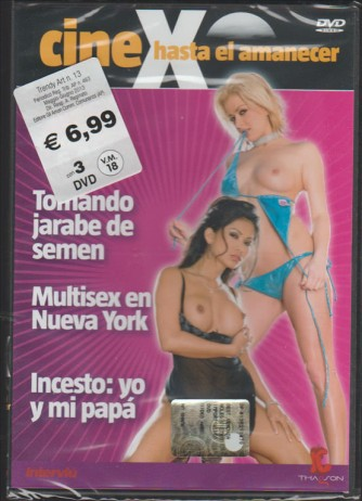 DVD video HARD 3 FILMS - Cine X hasta el amanecer (Cinema fino all'alba)