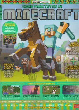 Come fare tutto in Minecraft by Games village by Sprea editore