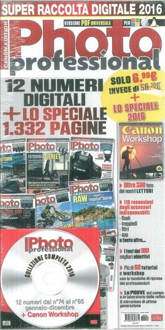 Raccolta digitale 2016 Photo Professional /Canon edition) versione PDF universale