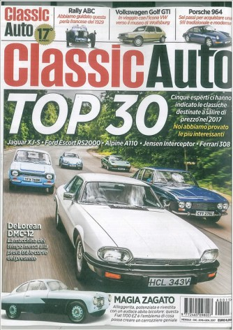 Classic Auto - rivista mensile n. 17 - Dic.2019 / Gen.2017
