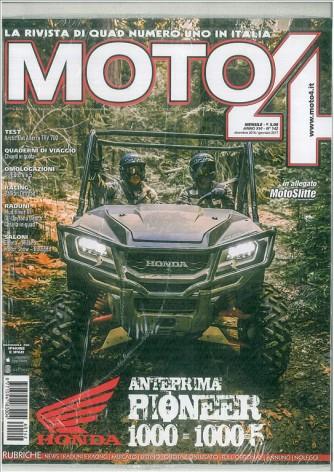 Moto 4 - mensile n. 142 Dic.2016/Gen.2017