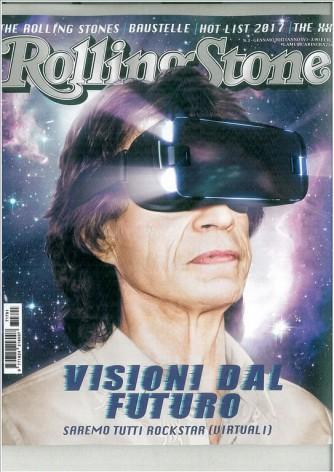 Rolling Stone - mensile n. 1 Gennaio 2017 - Mick Jagger