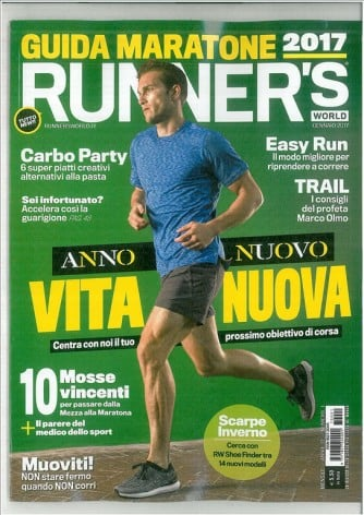 Runner's World - mesnile n. 1 Gennaio 2017