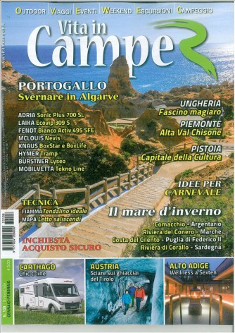 Vita in Camper -Bimestrale n. 108 Gennaio 2017
