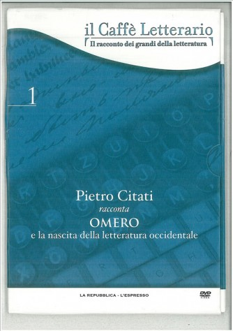 DVD il caffè letterario vol. 1 Pietro Citati racconta Omero
