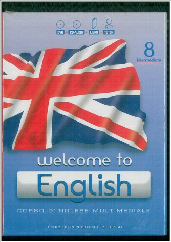 Corso di Inglese DVD+CD audio+libroWrlcome to English 8° vol.