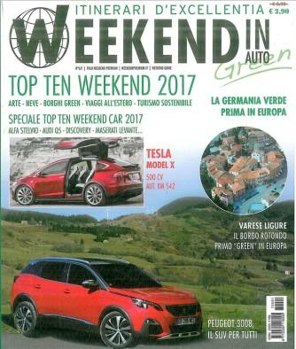 Weekend in auto - mensile n. 6 Gennaio 2017