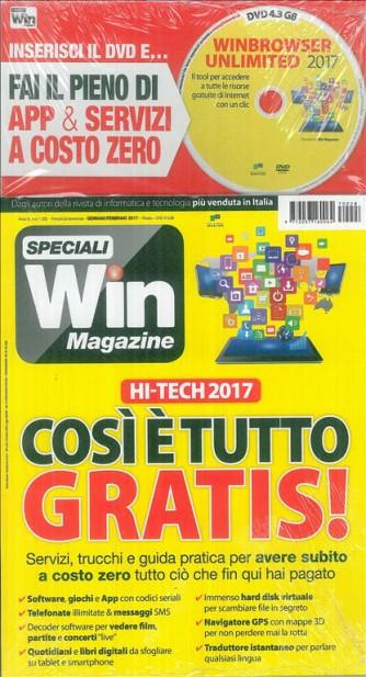 Speciali Win Magazine: HI-TECH 2017 così è tutto gratis