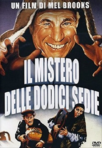 DVD Il mistero delle dodici sedie Regia: Mel Brooks c/Frank Langella, Mel Brooks