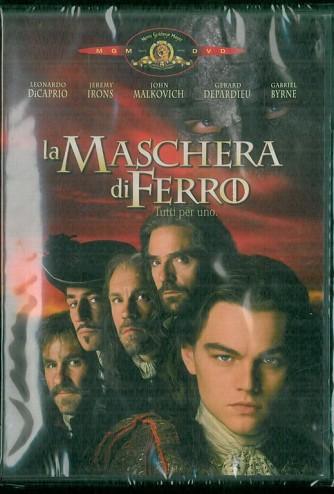 DVD - La maschera di ferro (tutti per uno) -regia di Randall Wallace
