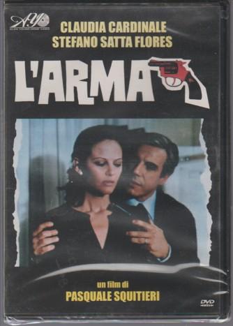 DVD L'ARMA regia di Pasquale Squitieri con Claudia Cardinale /S.Satta Flores