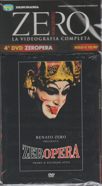 DVD Zero Collection n. 4 - ZEROPERA primo & secondo atto.