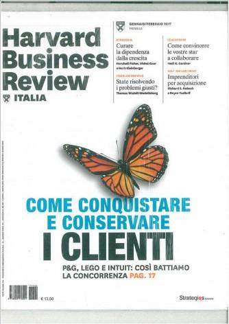 Harward Business Review Italia - Mensile n. 2 Gennaio 2017