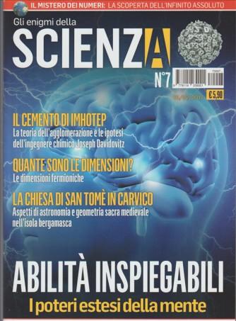 Gli Enigmi della Scienza - mensile n. 7 Febbraio 2017