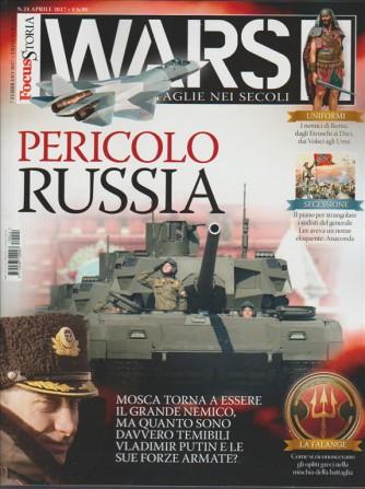 """Focus Storia WARS trimestrale n. 24 - febbraio 2017 """"Pericolo RUSSIA"""""""
