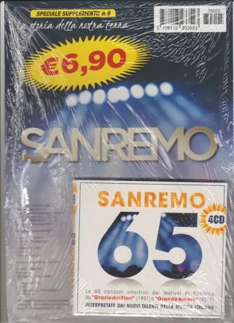 Quattro CD SANREMO 65 - 65 canzoni vincitrici del Festival