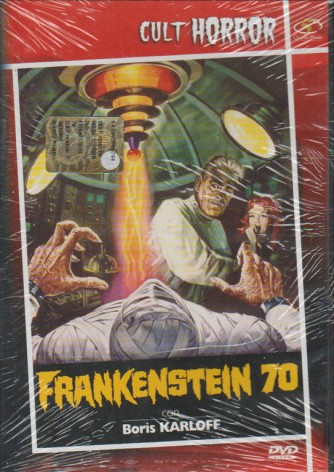 Frankenstein 70 - DVD - Boris Karloff, Don 'Red' Barry, Jana Lund, Tom Duggan