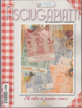Asciugapiatti e accessori cucina (quaderni di ricamare vol 17)