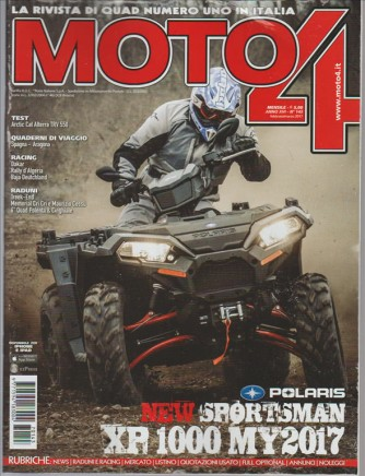 Moto4 mensile n. 143 Febbraio 2017