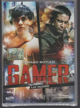 DVD - Gamer (Tu perdi lui muore) diretto da Neveldine / Taylor
