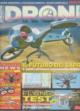 """Droni Magazine bimestrale n. 3 """"il futuro dei SAPR"""""""