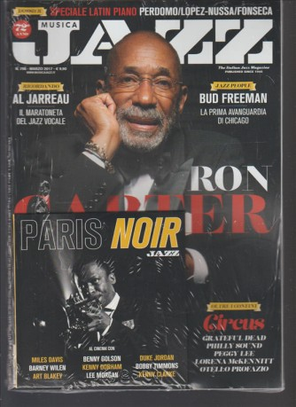 Musica Jazz - mensile n. 796 Marzo 2017 + CD Paris Noir JAZZ